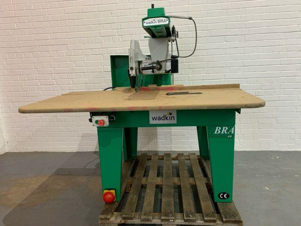 Wadkin BRA450 Radial Arm Crosscut Saw